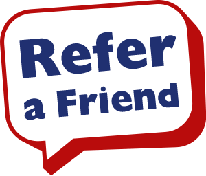 refer a friend bubble